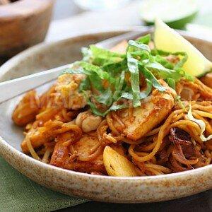 Mie Goreng Ayam (Kip)