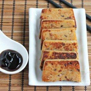 Turnip Cake – Rettich Cake – Daikon Cake
