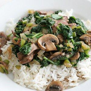 Sukiyaki Rundvlees – Zonder soep