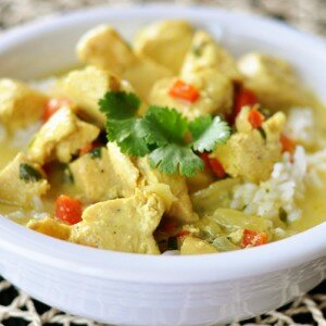 Kip Curry Kokos Soep