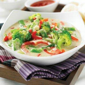 Thaise Rode Curry met Groenten