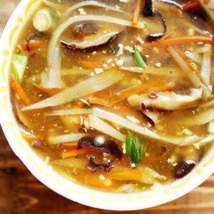 Bamboescheut soep