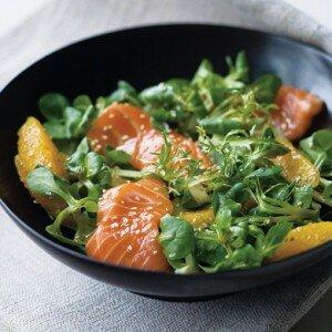Sashimi Salade (zalm)