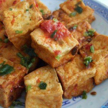 Tahu Goreng (gebakken tofu)