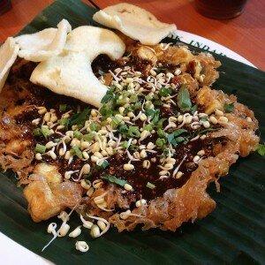 Tahu Telur (tofu omelet)