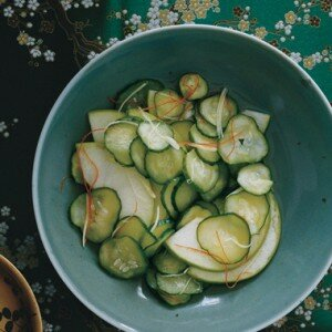 Komkommer en Appel Salade
